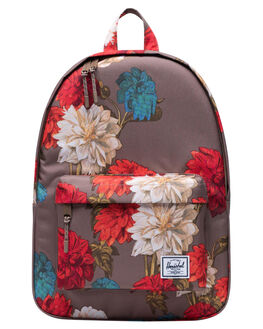 VINTAGE FLORAL PINE WOMENS ACCESSORIES HERSCHEL SUPPLY CO BAGS + BACKPACKS - 10485-03274-OSVTGBK
