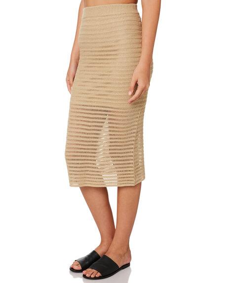 ECRU WOMENS CLOTHING LULU AND ROSE SKIRTS - LU23684ECR