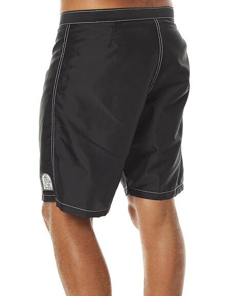 BLACK MENS CLOTHING KATIN BOARDSHORTS - TRKYLFS16BLK