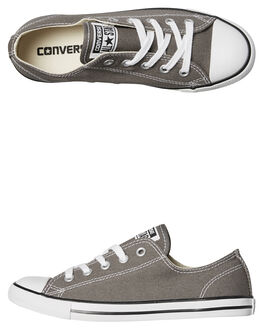 CHARCOAL WOMENS FOOTWEAR CONVERSE SNEAKERS - 532353CHAR