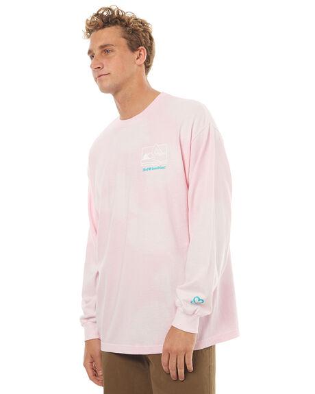 PINK MENS CLOTHING HUF TEES - TS00450PINK