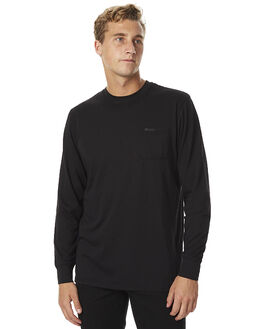 BLACK MENS CLOTHING BILLABONG TEES - 9575171BLK