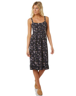 BLACK WOMENS CLOTHING THE HIDDEN WAY DRESSES - H8188445BLACK