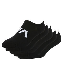 BLACK MENS CLOTHING RVCA SOCKS + UNDERWEAR - R162602ABLK