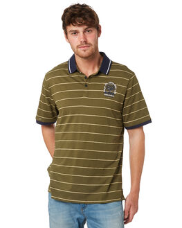 OLIVE CANVAS MENS CLOTHING HURLEY SHIRTS - AJW0008395