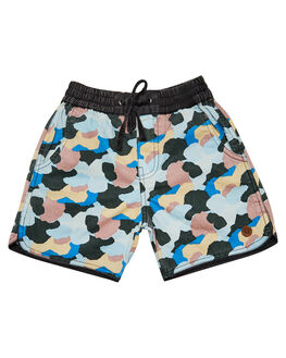 MULTI KIDS BOYS CHILDREN OF THE TRIBE SHORTS - BYDR0320MUL
