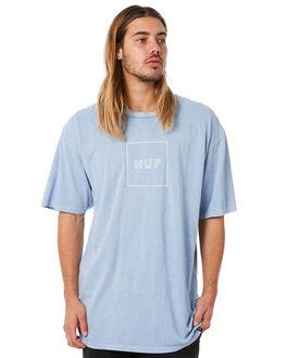 LIGHT BLUE MENS CLOTHING HUF TEES - HUF-TS00331-LBLUE