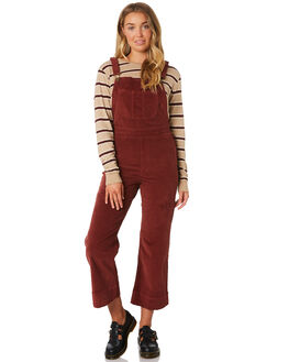 BLOOD RED OUTLET WOMENS THRILLS PLAYSUITS + OVERALLS - WTA9-925HBRED