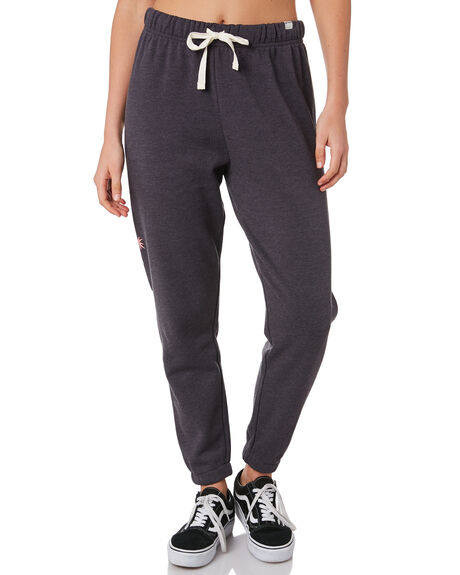 OIL GREY HEATHER WOMENS CLOTHING HURLEY PANTS - CN7879097
