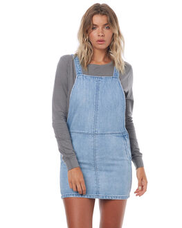 RECKLESS BLUE WOMENS CLOTHING THRILLS PLAYSUITS + OVERALLS - WTDP-940ERBLU