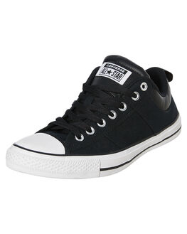 BLACK MENS FOOTWEAR CONVERSE SNEAKERS - 166963CBLK