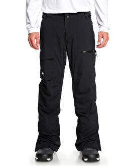 BLACK BOARDSPORTS SNOW QUIKSILVER MENS - EQYTP03130-KVJ0
