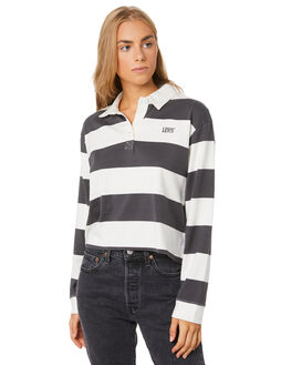 FORGED IRON STRIPE WOMENS CLOTHING LEVI'S FASHION TOPS - 85375-0001FORG