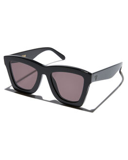 GLOSS BLACK MENS ACCESSORIES VALLEY SUNGLASSES - S0385GBLK