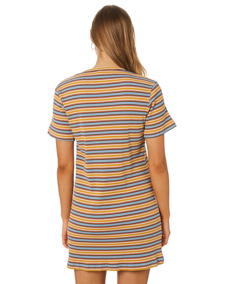 MUSTARD WOMENS CLOTHING RPM DRESSES - 9SWD02BMSTD