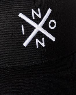 BLACK WHITE MENS ACCESSORIES NIXON HEADWEAR - C2875005