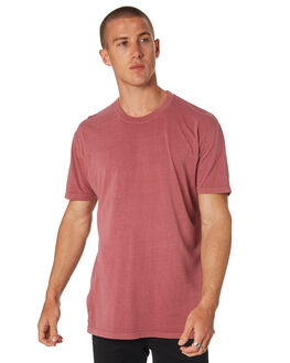 FADED WINE MENS CLOTHING AS COLOUR TEES - 5065FWIN