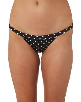 BLACK OUTLET WOMENS RHYTHM BIKINI BOTTOMS - OCT18W-SW24BLK