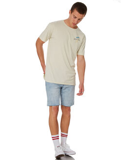 NATURAL MENS CLOTHING ALOHA ZEN TEES - AZ952NAT