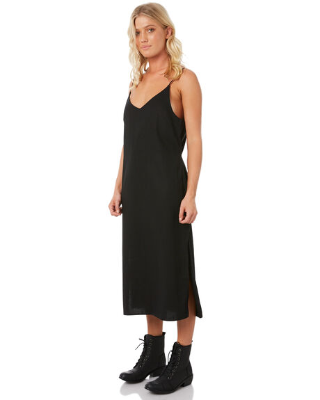 BLACK WOMENS CLOTHING ELWOOD DRESSES - W83713-BLK