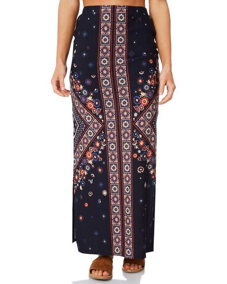 INDIGO WOMENS CLOTHING TIGERLILY SKIRTS - T383277IND