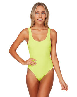 LIME PUNCH WOMENS SWIMWEAR BILLABONG ONE PIECES - BB-6591611-LMP