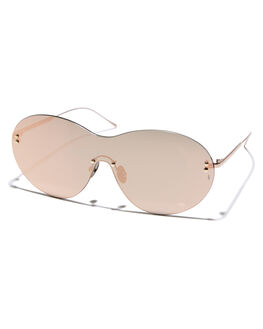 ROSE WOMENS ACCESSORIES SUNDAY SOMEWHERE SUNGLASSES - SUN161-ROS-SUNROSE