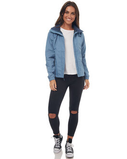 PROV BLUE WOMENS CLOTHING THE NORTH FACE JACKETS - NF0A2VCUUBPPBLU
