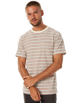 ORANGE MENS CLOTHING KATIN TEES - KNDENS17ORA