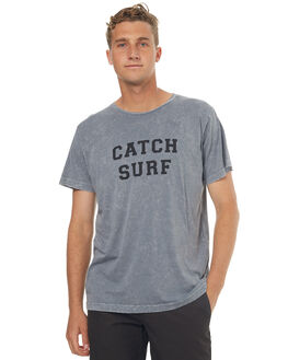 SMOKE WASH MENS CLOTHING CATCH SURF TEES - A6TEE034SWSH