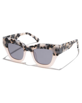 PINK MATTE TORT WOMENS ACCESSORIES OSCAR AND FRANK SUNGLASSES - 016PMT