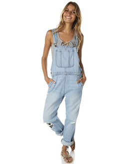 OCEAN BLUE WOMENS CLOTHING BILLABONG PLAYSUITS + OVERALLS - 6575431OBLU