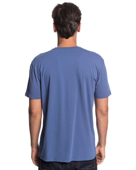 BIJOU BLUE MENS CLOTHING QUIKSILVER TEES - EQYZT05180BNG0