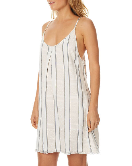 WHITE WOMENS CLOTHING TIGERLILY DRESSES - T375401WHT