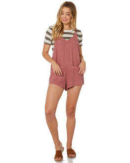VINTAGE PLUM WOMENS CLOTHING BILLABONG PLAYSUITS + OVERALLS - 6595508VPL