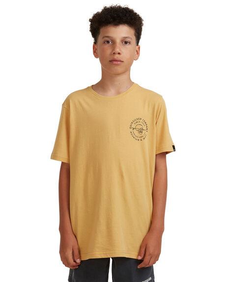 FALL LEAF KIDS BOYS QUIKSILVER TOPS - EQBZT04273-YJG0
