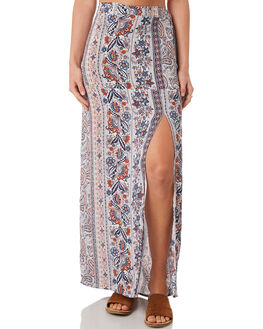 PAISLEY PRINT WOMENS CLOTHING ALL ABOUT EVE SKIRTS - 6423040PRNT