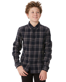 BLACK KIDS BOYS RIP CURL TOPS - KSHKG10090