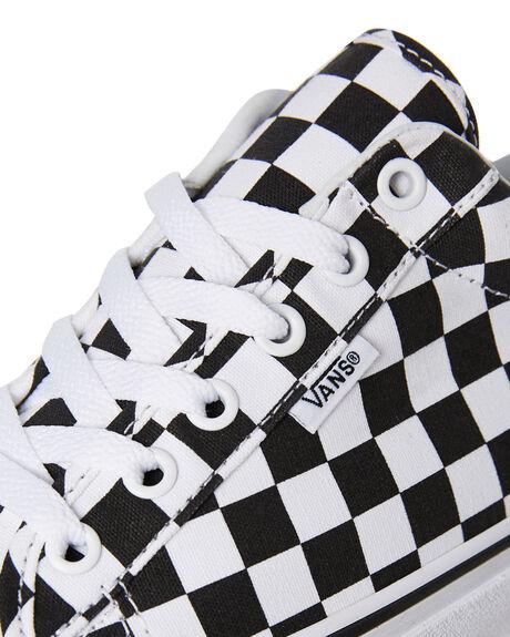 CHECK WHITE MENS FOOTWEAR VANS SNEAKERS - SSVNA3MVHQXHM