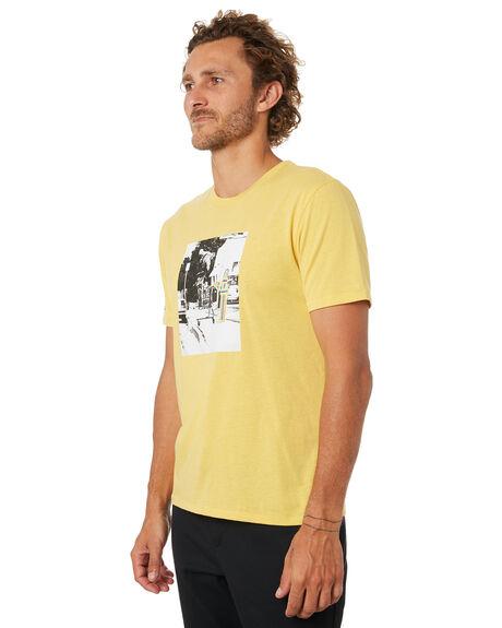 YELLOW MENS CLOTHING BRIXTON TEES - 02773YELLW
