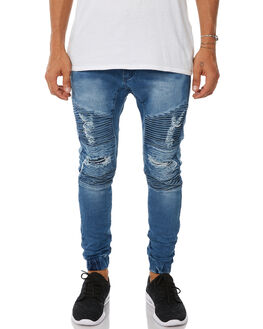 KENTUCKY BLUE MENS CLOTHING NENA AND PASADENA JEANS - NPMHCP002KBLU