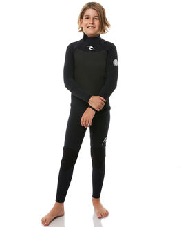 BLACK SURF WETSUITS RIP CURL STEAMERS - WSM8AB90