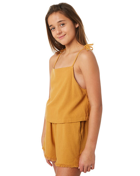 MUSTARD KIDS GIRLS SWELL TOPS - S6184166MUSTD