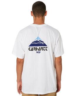 WHITE MENS CLOTHING CARHARTT TEES - I025362WHT