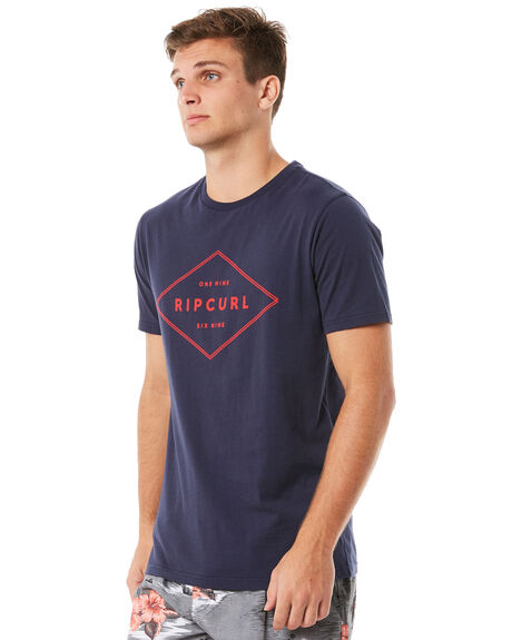 NAVY MENS CLOTHING RIP CURL TEES - CTENO20049