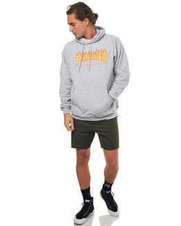 GREY MENS CLOTHING THRASHER JUMPERS - 20365073GREY