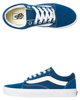 BLUE MENS FOOTWEAR VANS SNEAKERS - VNA3WLYVS1