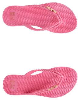 PINK WOMENS FOOTWEAR BILLABONG THONGS - 6661856PNK