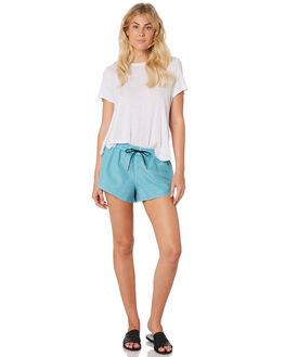 TEAL WOMENS CLOTHING BILLABONG SHORTS - 6582361TEA