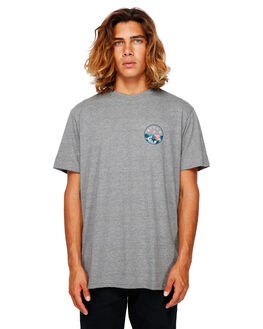 DARK GREY HEATHER MENS CLOTHING BILLABONG TEES - BB-9591031-DGH